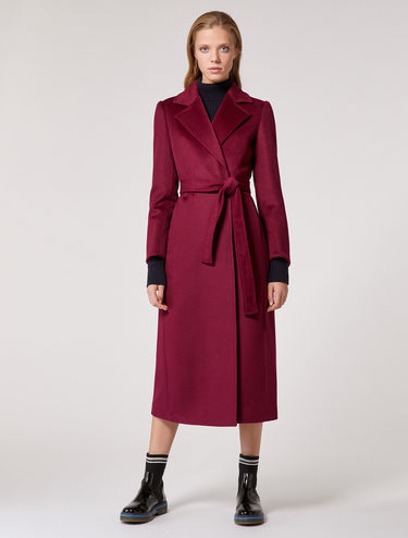 Long wool cloth coat
