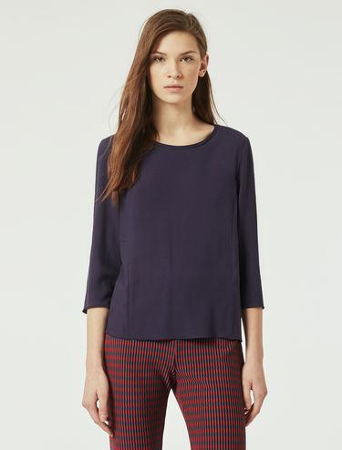 Sablé crêpe blouse