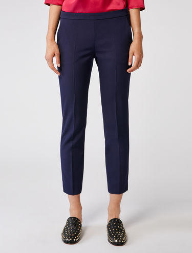 Slim cavalry twill trousers