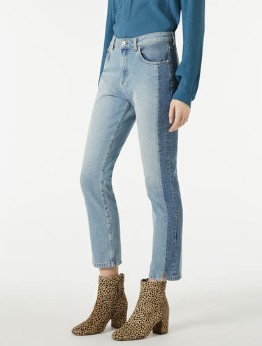 Vintage-look girlfriend jeans