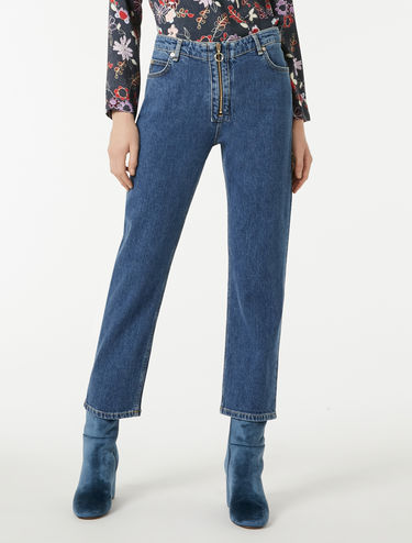 Contemporary straight-fit jeans