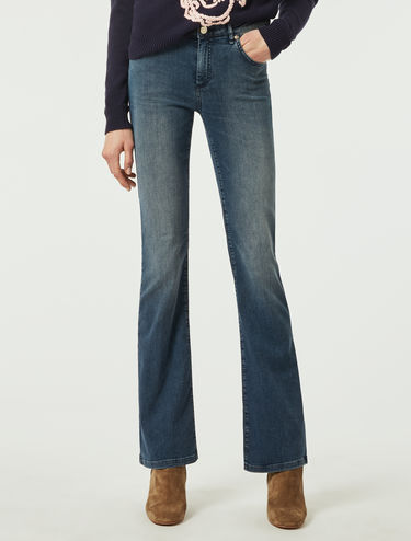 Jean bootcut super stretch