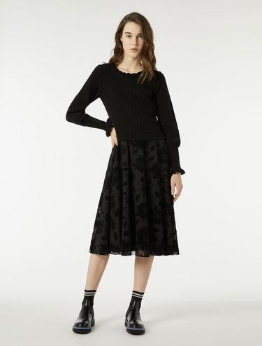 ニット 2in1 ドレス