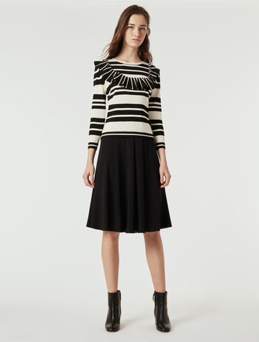 A 2 in 1 dress with matching sweater
