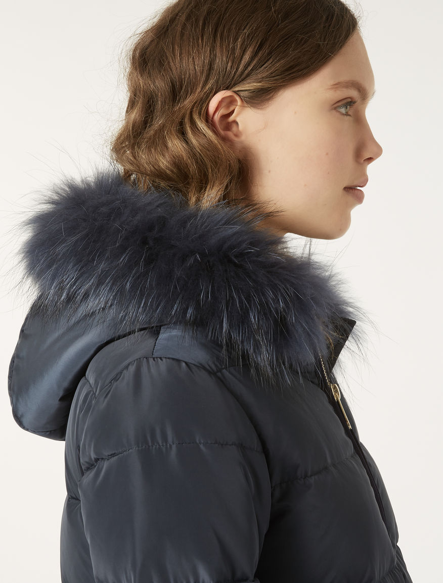 520283dc57e Down jacket in technical fabric
