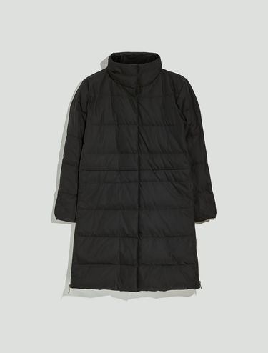 Down jacket with side zips
