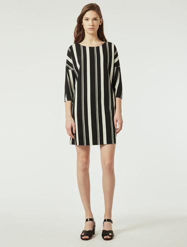 Kleid aus Jerseyjacquard