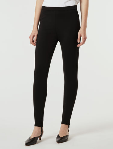 Skinny technical-jersey trousers