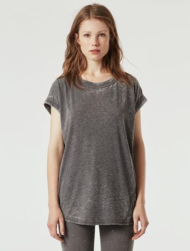 Délavé jersey T-shirt