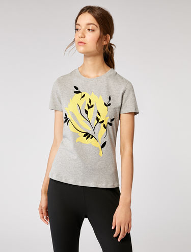 T-shirt with prints or embroidery