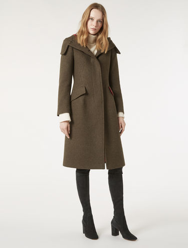 Cappotto in panno loden double