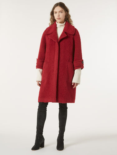 Oversize wool/alpaca coat
