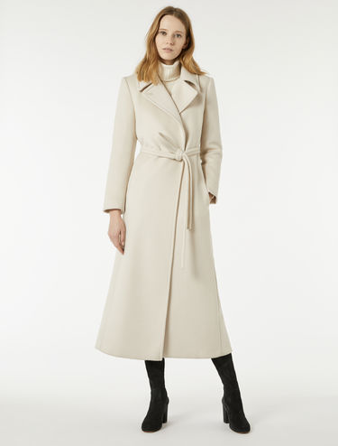 Drape robe coat