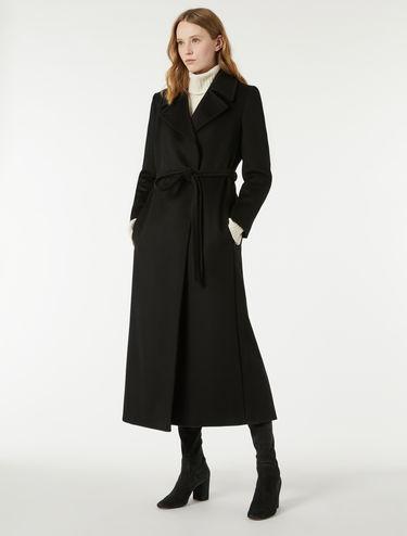 Manteau robe de chambre en drap