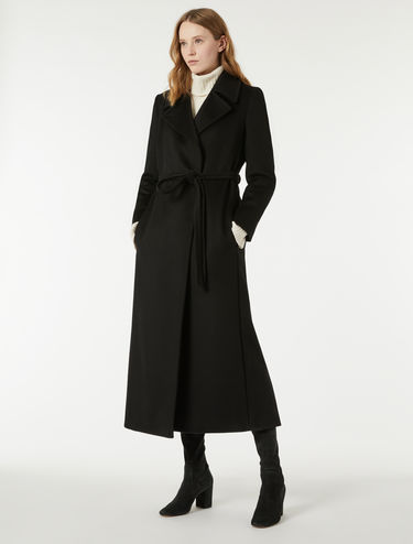 Drape robe coat