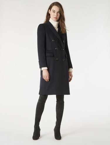 Manteau en pur cachemire