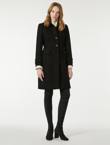 Manteau ajusté double épaisseur