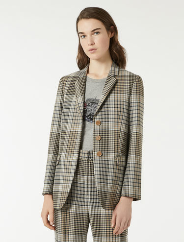 Batavia blazer with check pattern