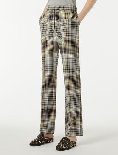 High-waisted Batavia trousers