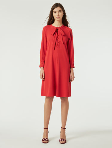 A-line dress with bow