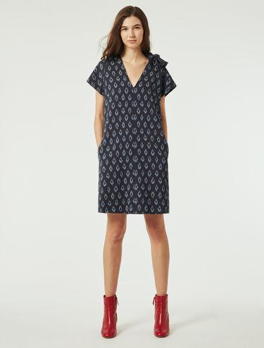 A-line Jacquard dress