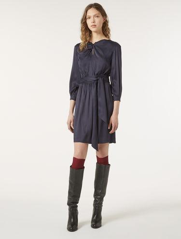 Floaty twill dress