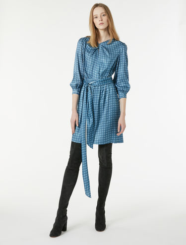 Floaty twill dress