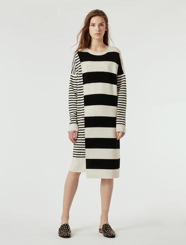 Wool/cashmere knit dress