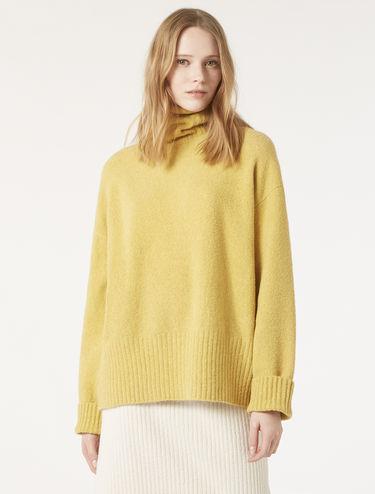 Oversize-Pullover aus Bouclé-Garn
