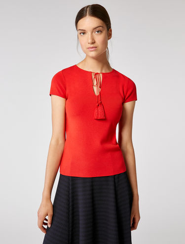 T-shirt en maille stretch