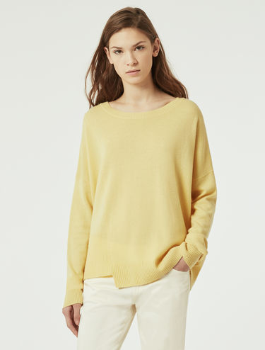 Oversized wool/cashmere sweater