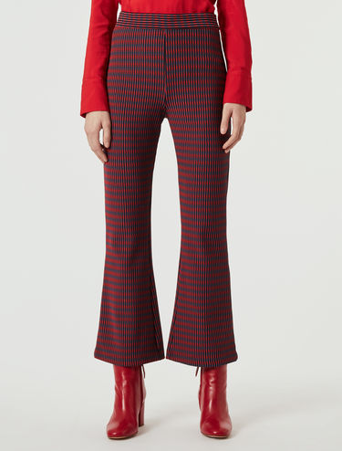 Pantaloni in jersey ottoman