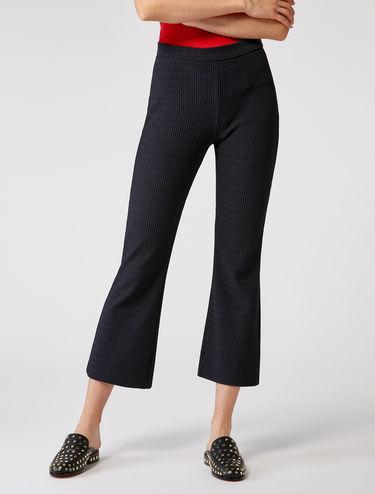 Pantalon en jersey ottoman