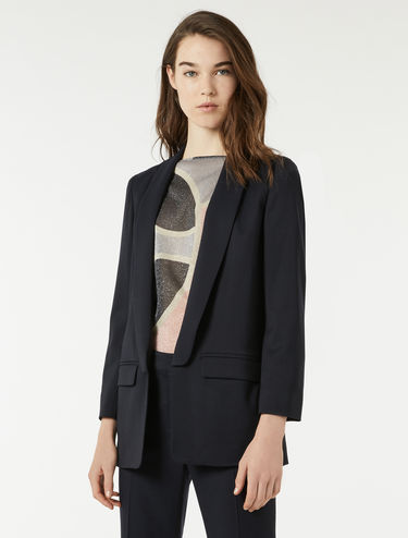 Blazer en sergé stretch