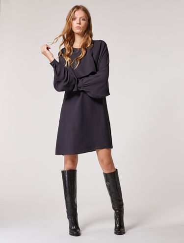 Robe en double georgette