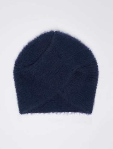 Turbante in mohair tricot