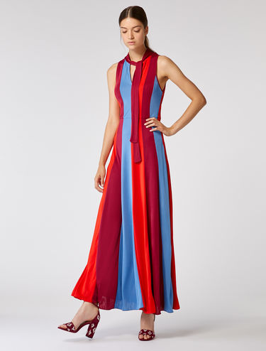 Long flowing jersey dress