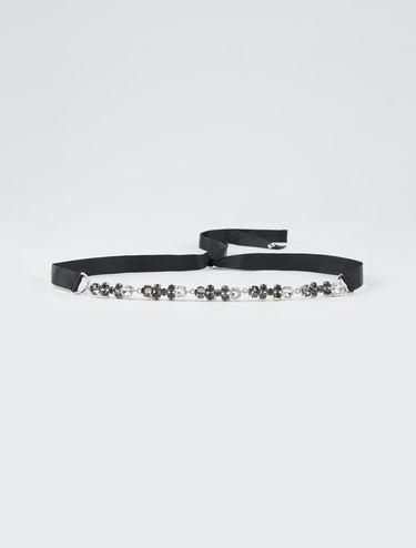 Halskette/Gürtel mit Strass