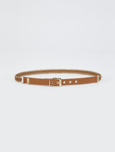 Chain and cord belt