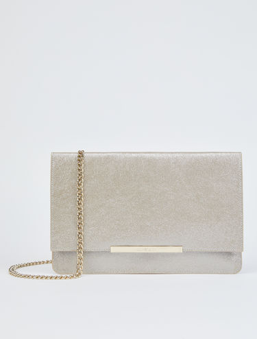 Laminated maxi-clutch bag