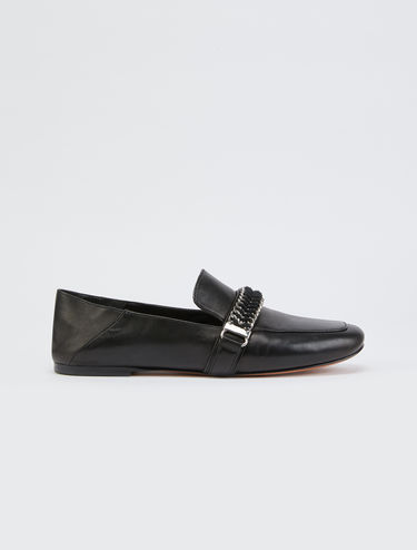 Mocassini slippers in nappa