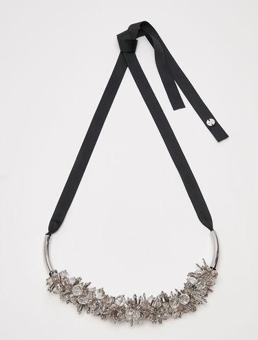 Kette mit Perlencluster und Stäbchen