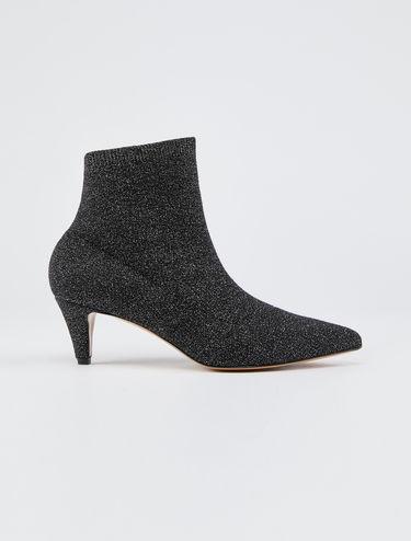 Bottes chaussettes lamées