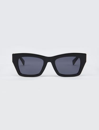 Gafas de sol de línea trapecio