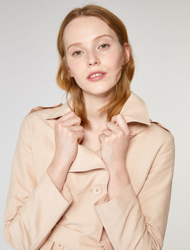 Trench-coat à ceinture