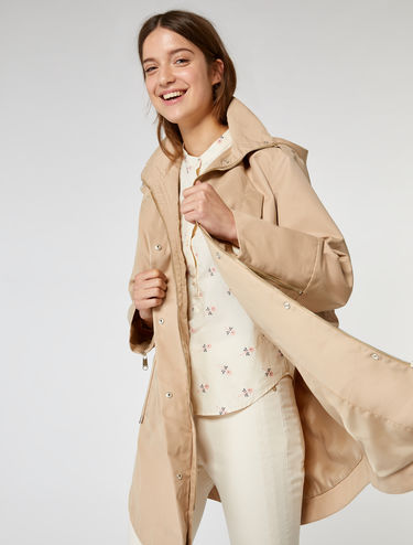 Three-in-one down parka