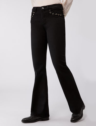 Jeans bootcut super-stretch
