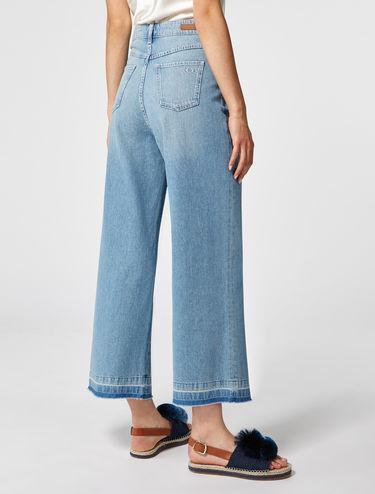 Extra weite, verwaschene Jeans