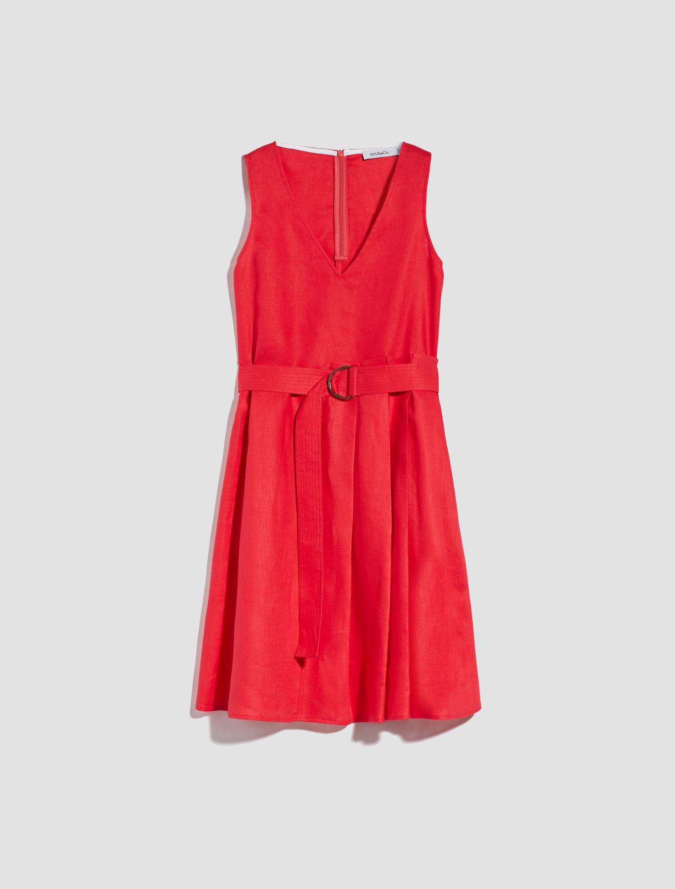 ceba1788323 Pure linen A-line dress