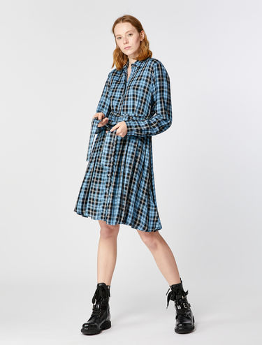 Button-through shirt dress
